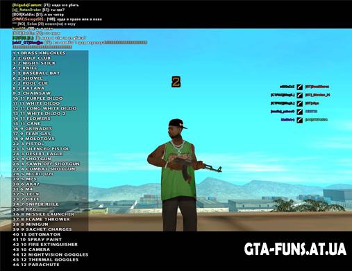 Коды к ГТА 2